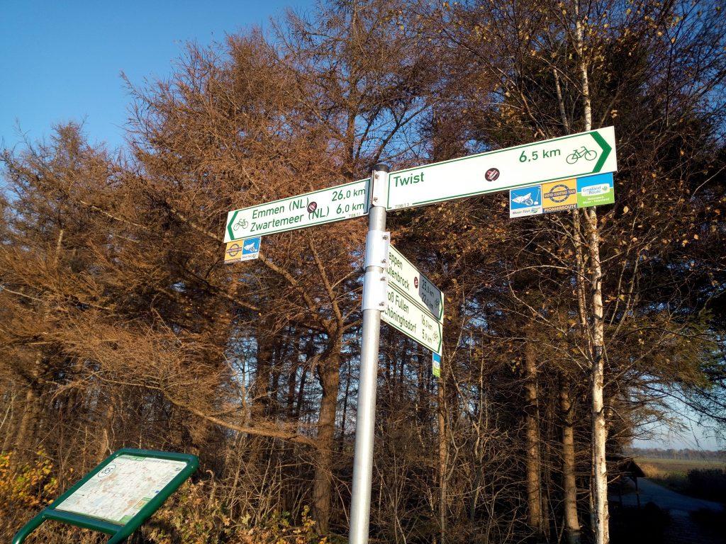 Langs de grens van Nederland en Duitsland